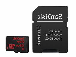 SanDisk 128GB Ultra Micro SD XC Class 10 Memory Card for LG