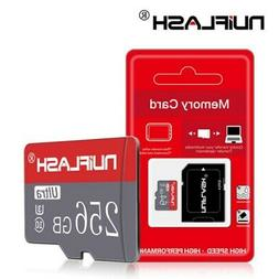 256GB Micro-SD-Card TF-Flash Memory Cards for Phone Tablets