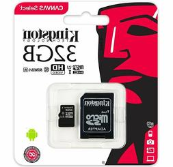 32GB Micro SD SDHC 80MB/s Memory Card For  Lenovo Tab3 10  T