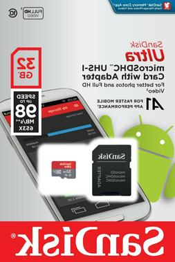 32GB SanDisk Micro SD 98MB/s A1  Memory Card For Amazon Fire