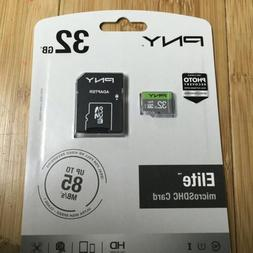 Pny 32gb Prime Micro Sd Card Drone  Free Shipping