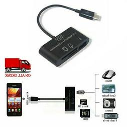 3in1 Card Reader SD-card/TF/SDHC OTG for SAMSUNG Android Pho