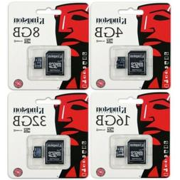 Kingston 4GB 8GB 16GB 32GB Class 4 microSD SDHC Memory Flash