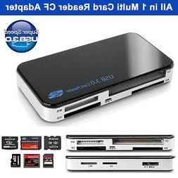 USB 3.0 All in 1 Compact Flash Multi Card Reader 5gbps CF Ad