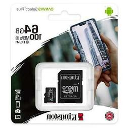 64GB Micro SD Memory Card For Amazon Fire HD 8  Tablet
