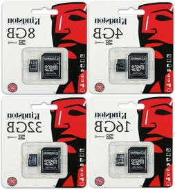 Kingston 8GB 16GB 32GB Class 4 micro SD SDHC Memory Flash Ca