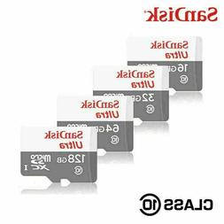 Sandisk 16GB 32GB 64GB 128GB Micro SD HC Class 10 Flash SDHC