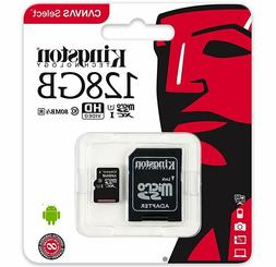 KINGSTON 128GB Micro SD SDXC 80MB/s Memory Card For Lenovo T