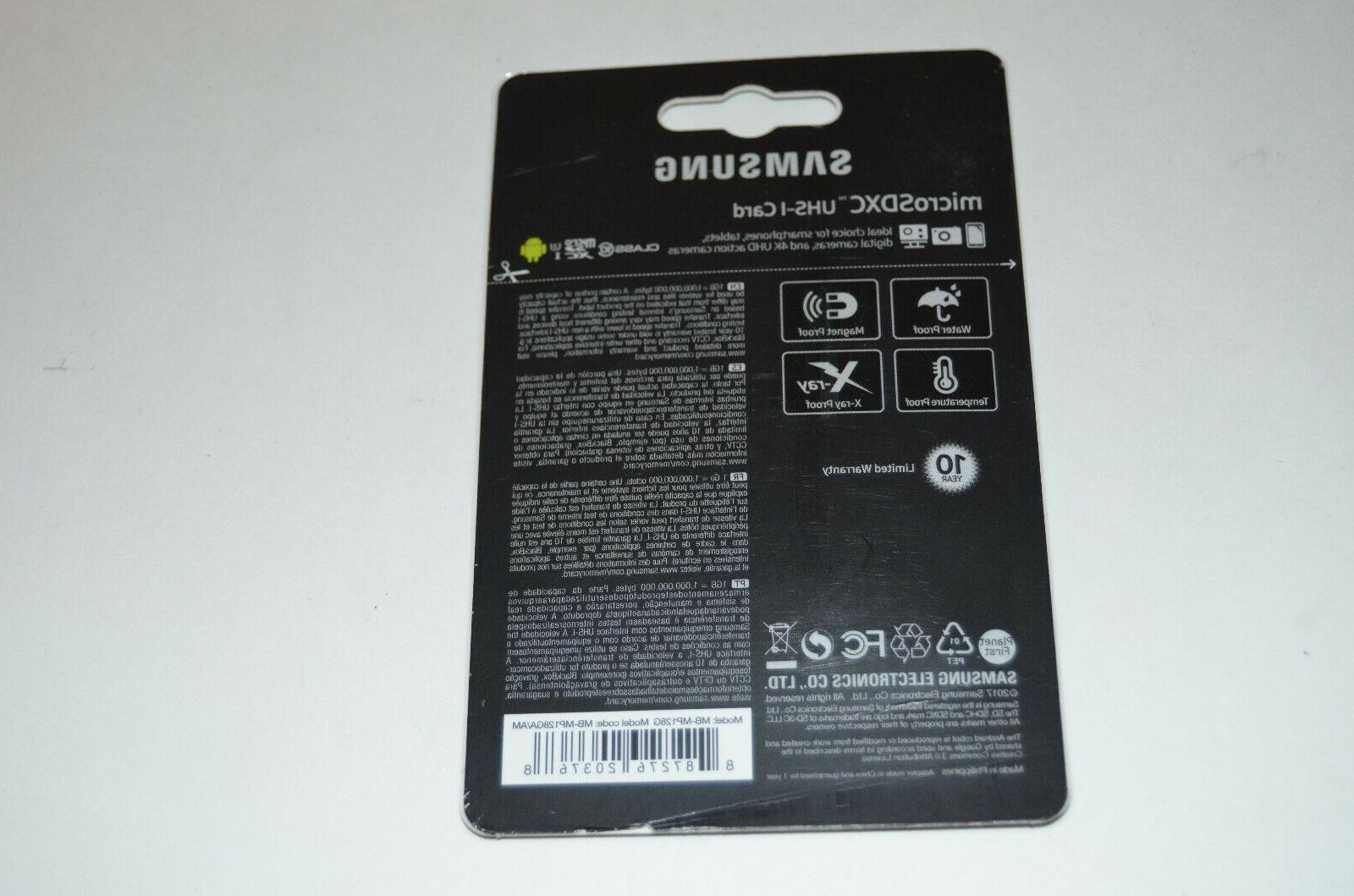 Memory Card with 128 GB