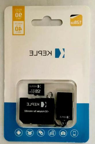 128gb memory card sd adapter for microsd