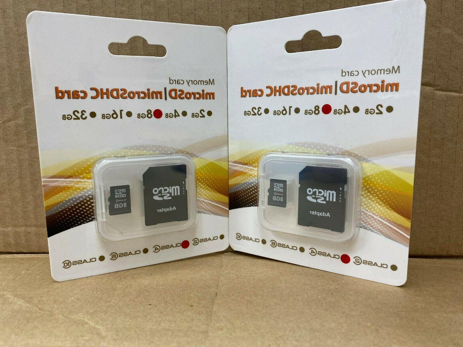8 gb micro sd card with sd