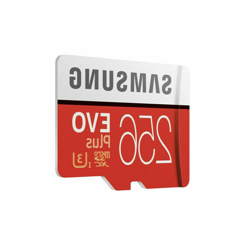 Samsung Memory 256GB Plus card with