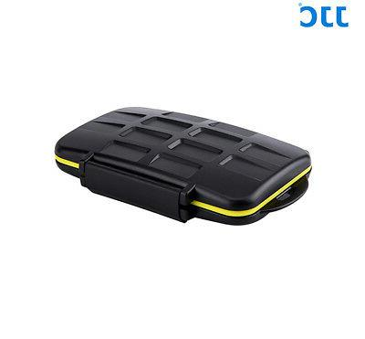 JJC Water-Resistant Card Case fits 16 Micro SD