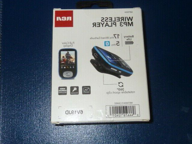 RCA Bluetooth 4GB Card Rechargeable