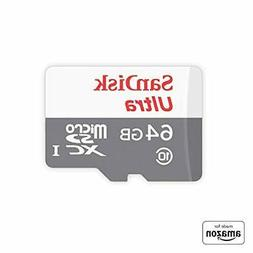 Made for Amazon SanDisk 64 GB micro SD Memory Card for Fire