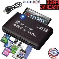 Memory Card Reader Mini 26-IN-1 USB 2.0 High Speed For CF xD