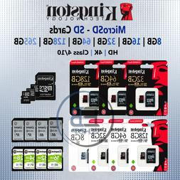 Kingston Micro SD Card 8gb 16g 32gb 64gb 128gb Memory Cards