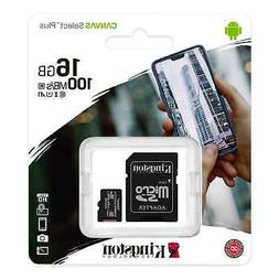 Kingston Micro SD Card 16GB TF Class 10 Android Nintendo Sam