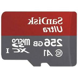 SANDISK ULTRA 256GB MICROSD SDXC MEMORY CARD HIGH SPEED CLAS