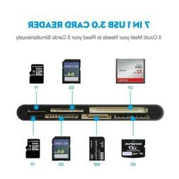 USB 3.0 Compact Flash Memory Card Reader Multi All In One Ad