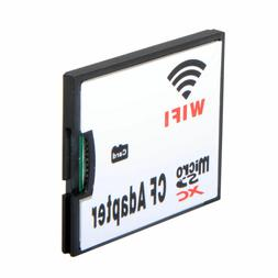 WIFI Memory Card Adapter TF Micro SD to CF Compact Flash Car